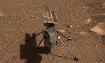 Вертолет NASA установил на Марсе новые рекорды