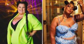Alyona Alyona в ультракоротком платье посоревновалась в сексуальности с американской певицей. Фото