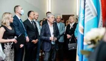 В Киеве открыли мемориальную доску в честь Мирослава Скорика