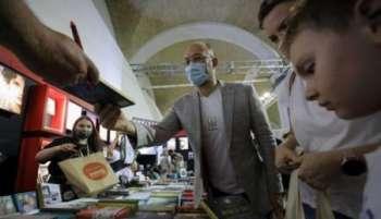 Шмыгаль посетил «Книжный Арсенал»