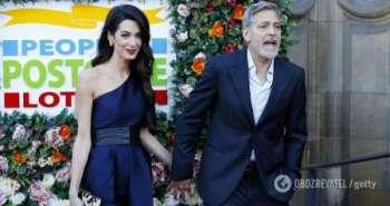 Джордж Клуни и его 43-летняя жена снова ждут двойню – СМИ